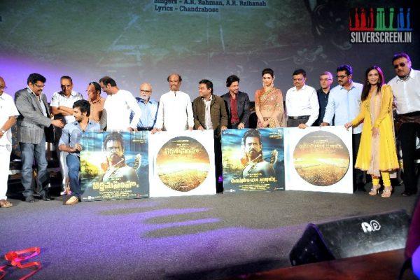 Kochadaiiyaan Audio Launch - THE Superstar, Deepika Padukone, Shahrukh Khan and others