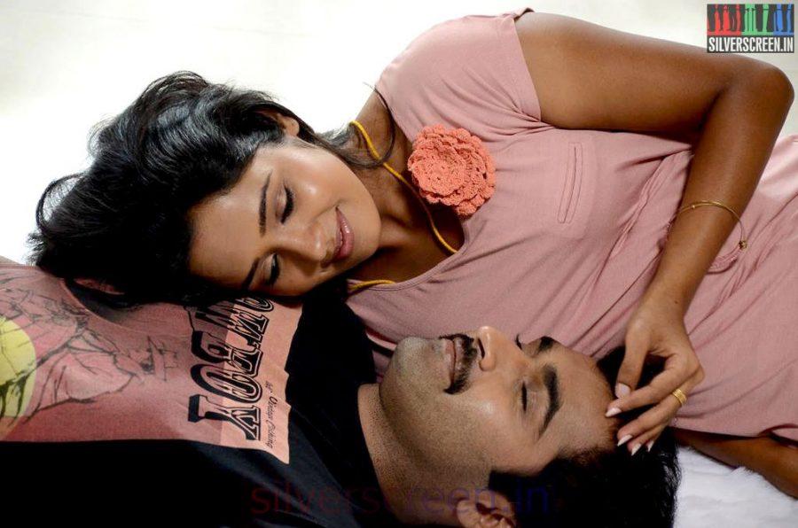 Athithi Movie Stills Starring Actor Nandha and Actress Ananya
