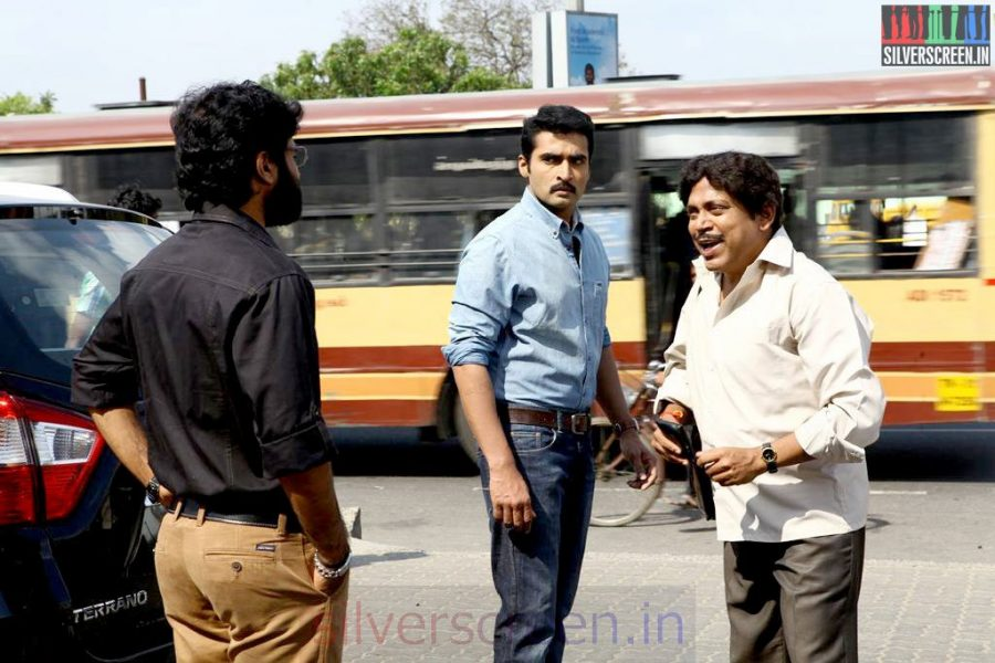 Athithi Movie Stills Starring Actor Nandha, Nikesh Ram and Thambi Ramaiah