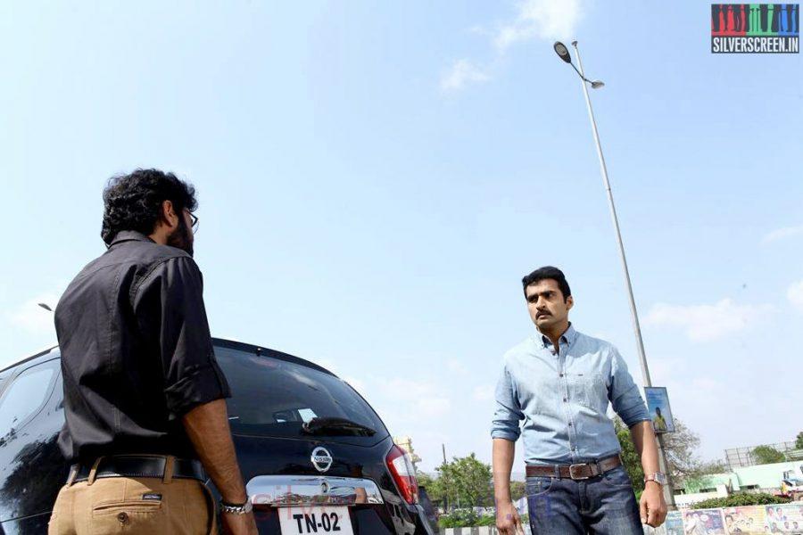 Athithi Movie Stills Starring Actor Nandha and Nikesh Ram