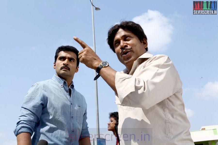 Athithi Movie Stills Starring Actor Nandha and Thambi Ramaiah