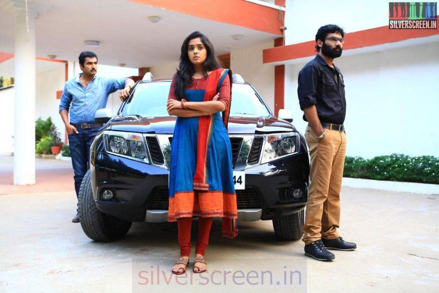 Athithi Movie Stills Starring Actor Nandha, Nikesh Ram and Actress Ananya