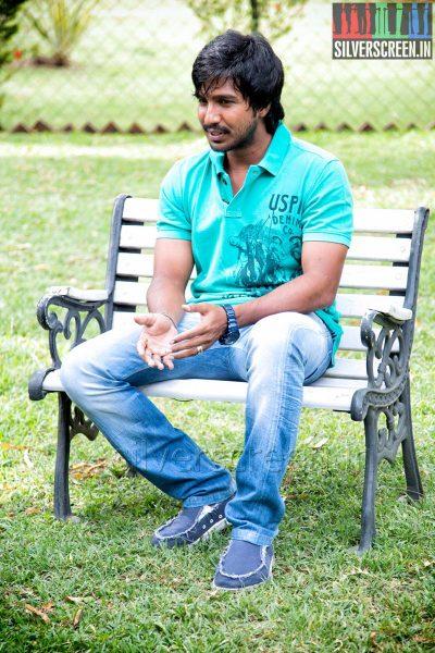 Actor Vishnu Vishal at the Mundasupatti Press Meet