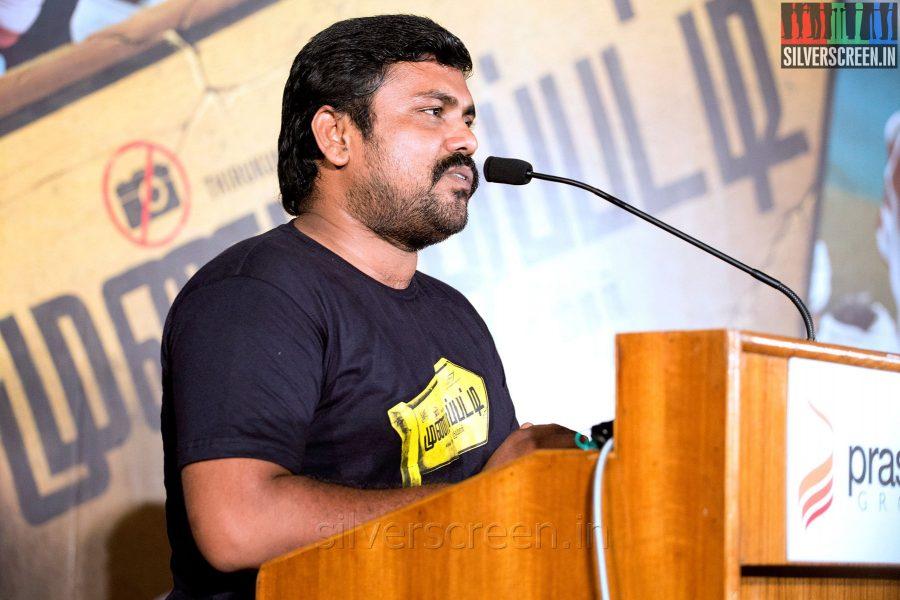 Actor Kaali at the Mundasupatti Press Meet