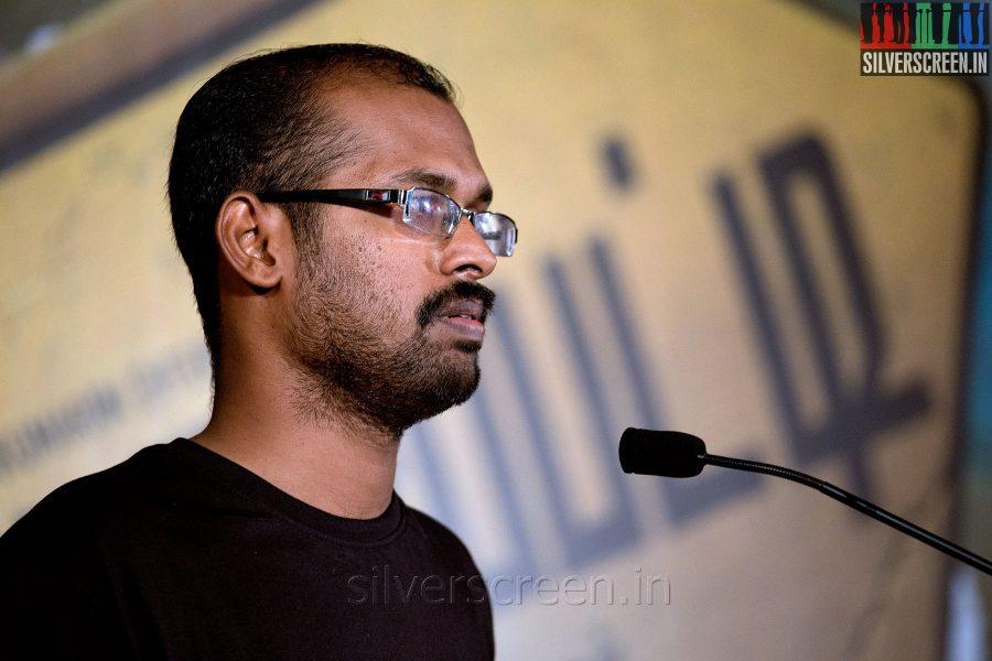 Director Ramkumar at the Mundasupatti Press Meet