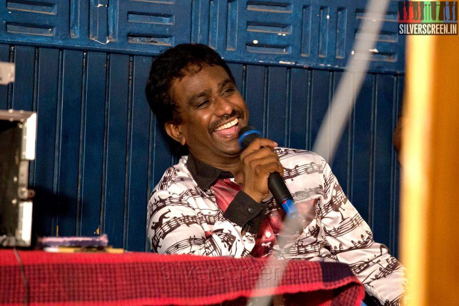 PRO Nikil Murugan at the Mundasupatti Press Meet