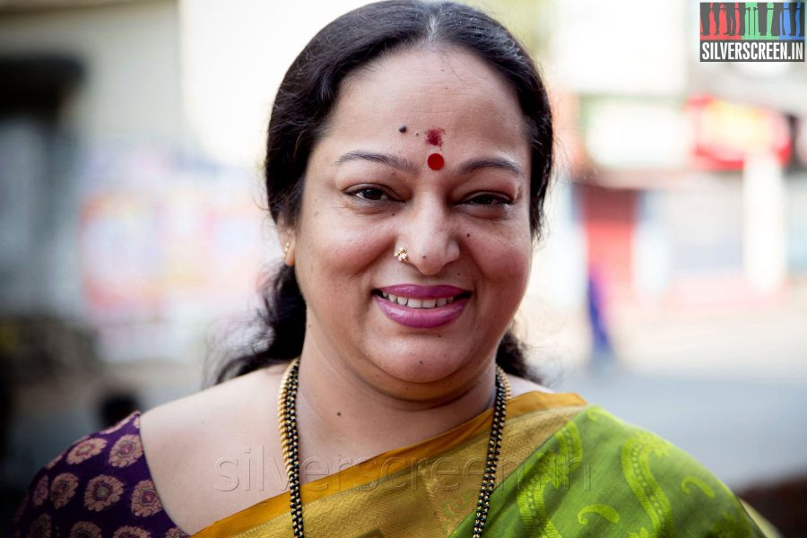 Actress Nalini at the Sathuranga Vettai Audio Launch