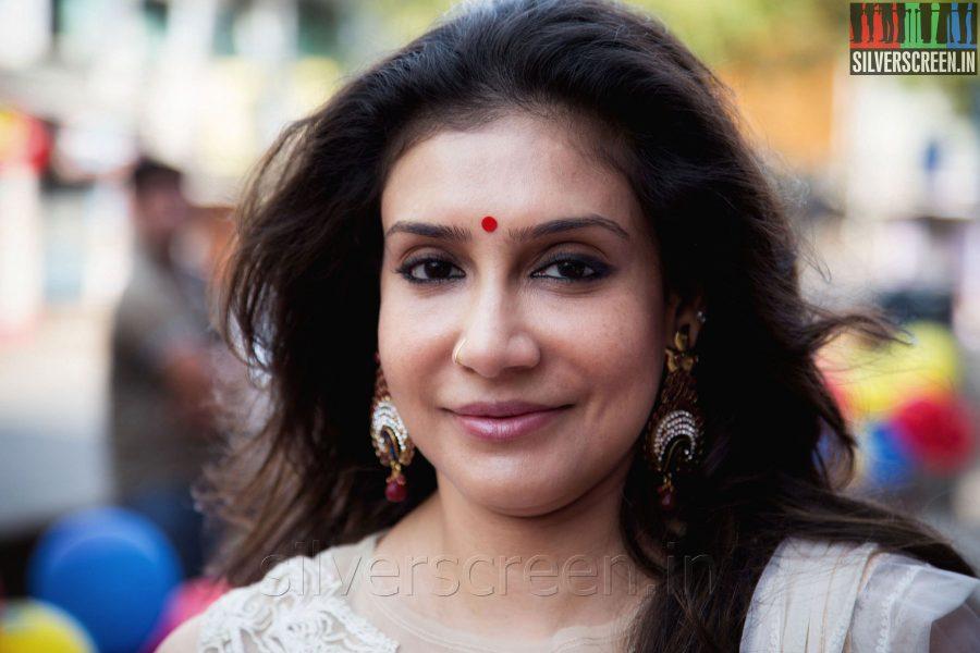 Actress Lissy Priyadarshan at the Sathuranga Vettai Audio Launch