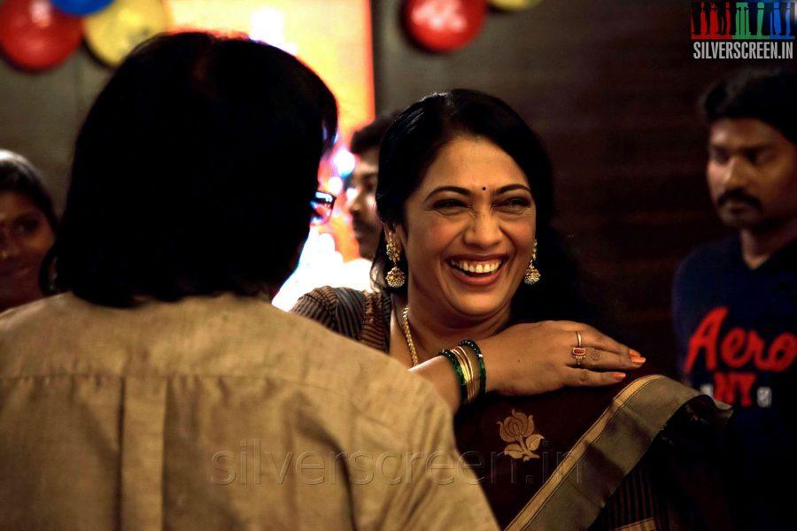 Actress Rekha at the Sathuranga Vettai Audio Launch