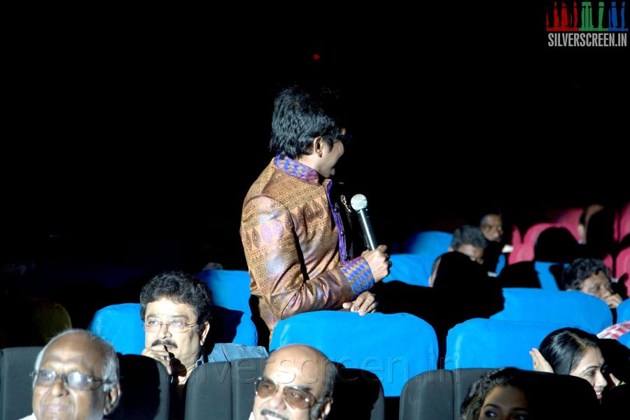 Badava Gopi at the Sathuranga Vettai Audio Launch