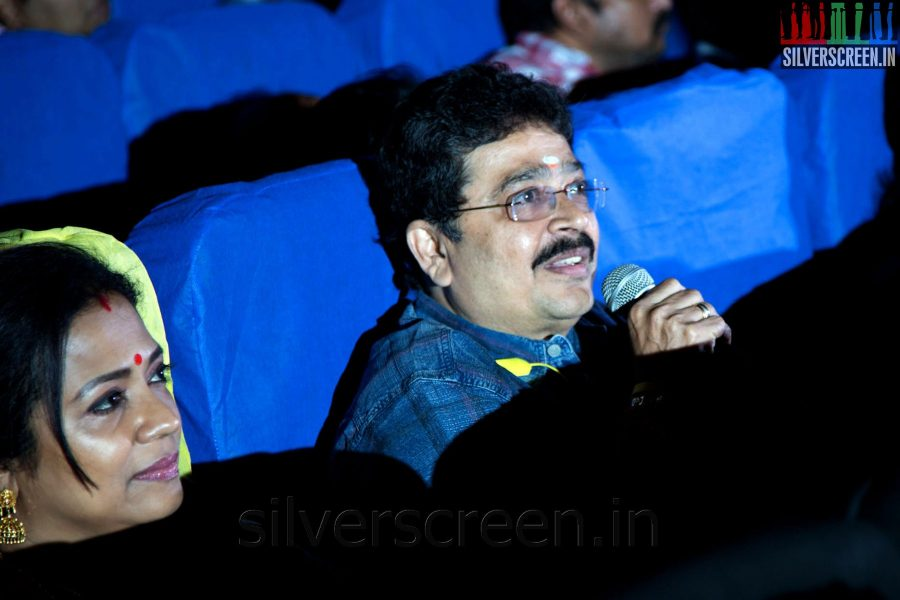 Actor S Ve Sekhar at the Sathuranga Vettai Audio Launch