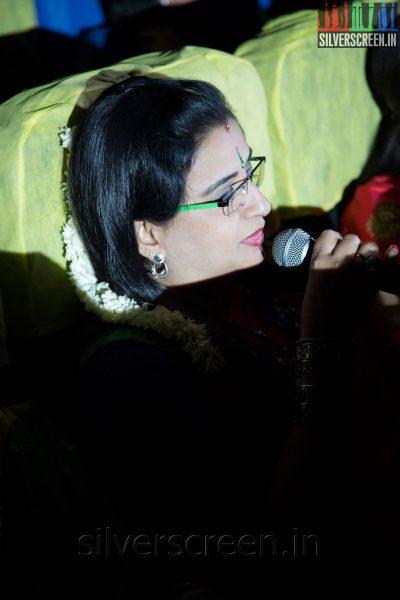 Actress Ambika at the Sathuranga Vettai Audio Launch