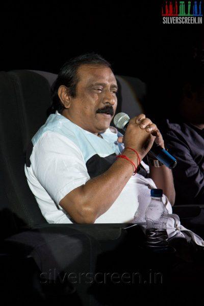 Director RV Udhaya Kumar at the Sathuranga Vettai Audio Launch