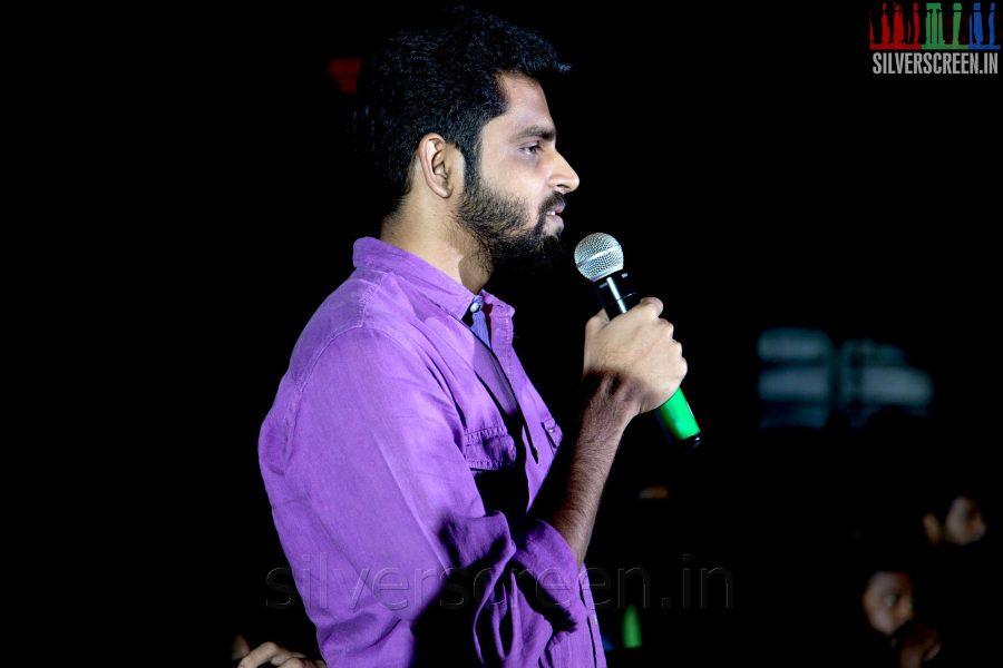 Balaji Mohan at the Sathuranga Vettai Audio Launch
