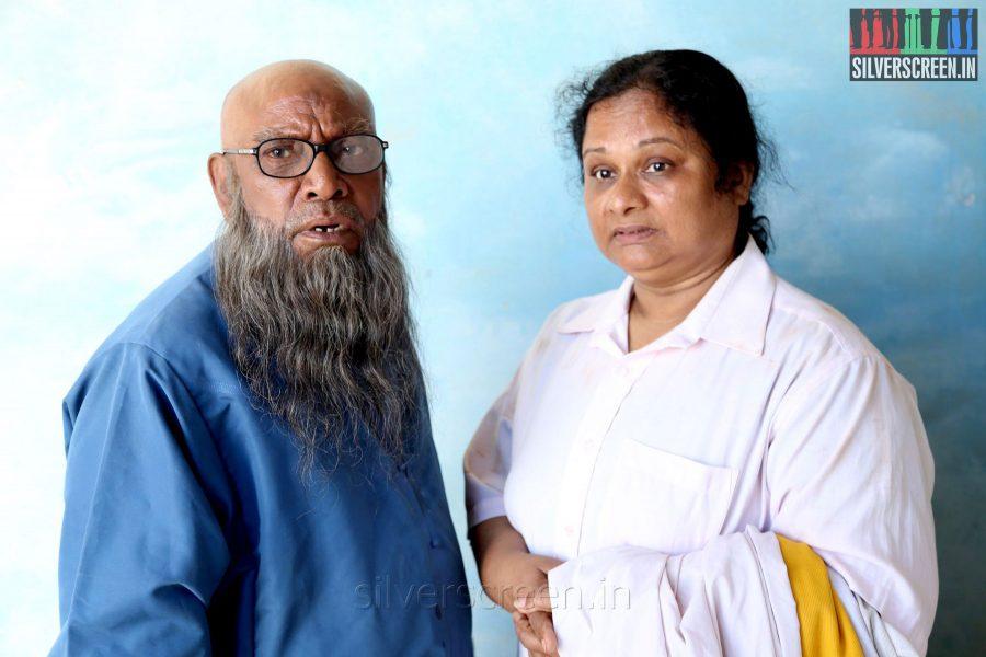 Actor Kochu Preman and Jeeja in Thirunthuda Kadal Thiruda Movie Stills