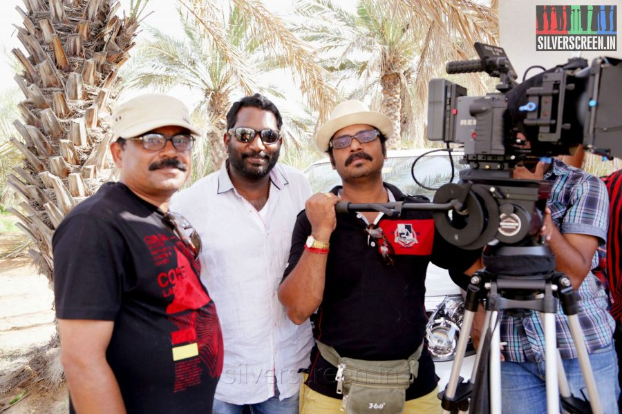 Director Asok R Nath and Producers Sanal Thottam and Harikumar Chakkalil in Thirunthuda Kadal Thiruda Movie Stills