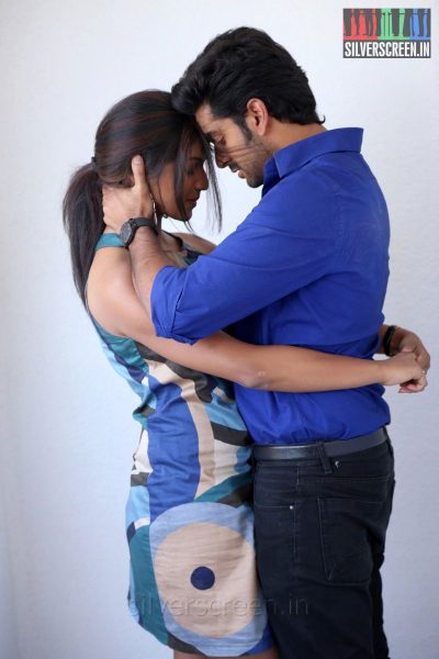 Actor Adil Ibrahim and Actress Sudhakshina in Thirunthuda Kadal Thiruda Movie Stills