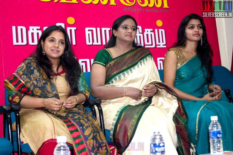 Unnal Mudiyum Penne Book Launch with Dhansika, Gayathrie and Iyshwarya Rajesh