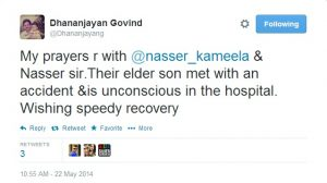 Dhananjayan Govind Tweet
