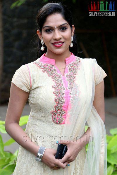 Actress Swasika at the Appuchi Gramam Press Meet