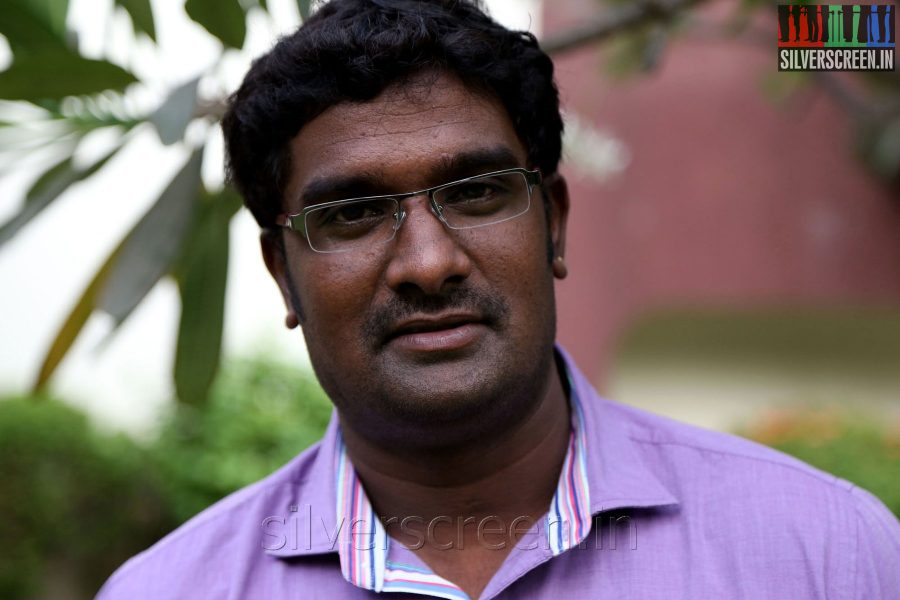 Cinematographer GK Prasad at the Appuchi Gramam Press Meet