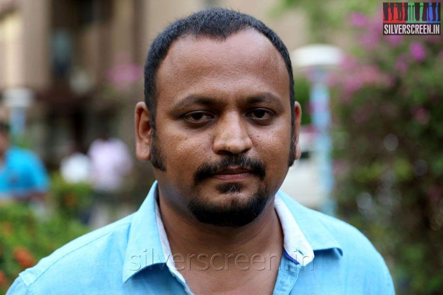 Editor Sasikumar at the Appuchi Gramam Press Meet