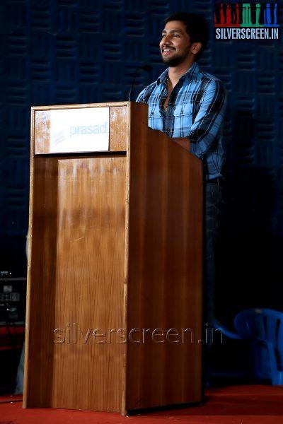 Producer Vishnu Murali at the Appuchi Gramam Press Meet