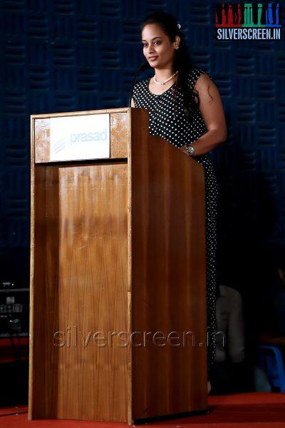 Actress Suja Varunee at the Appuchi Gramam Press Meet