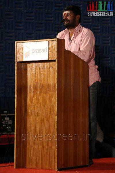 Ganja Karuppu at the Appuchi Gramam Press Meet