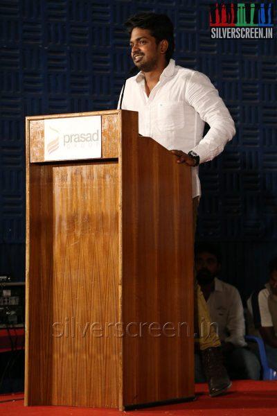 Actor Praveen Kumar at the Appuchi Gramam Press Meet