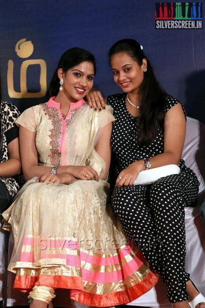 Actress Suja Varunee and Swasika at the Appuchi Gramam Press Meet