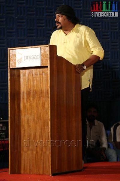 Actor Joe Malloori at the Appuchi Gramam Press Meet