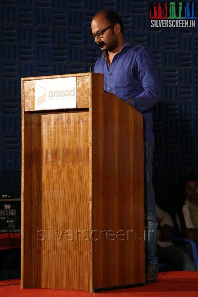 Director VI Anand at the Appuchi Gramam Press Meet