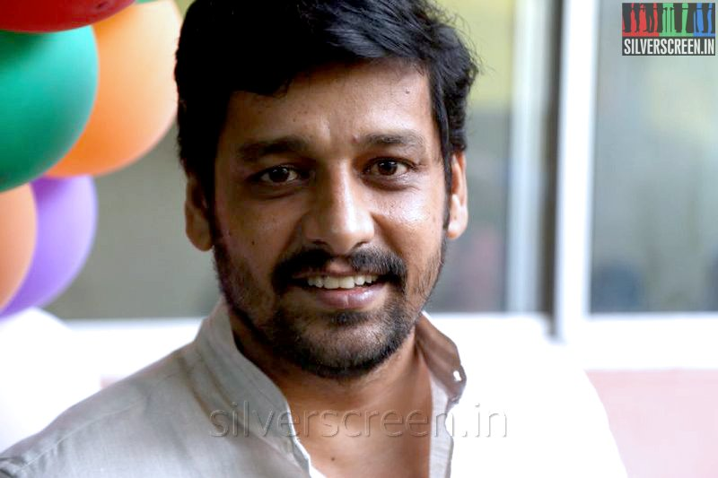 Director Vidharth at the Athithi Audio Launch