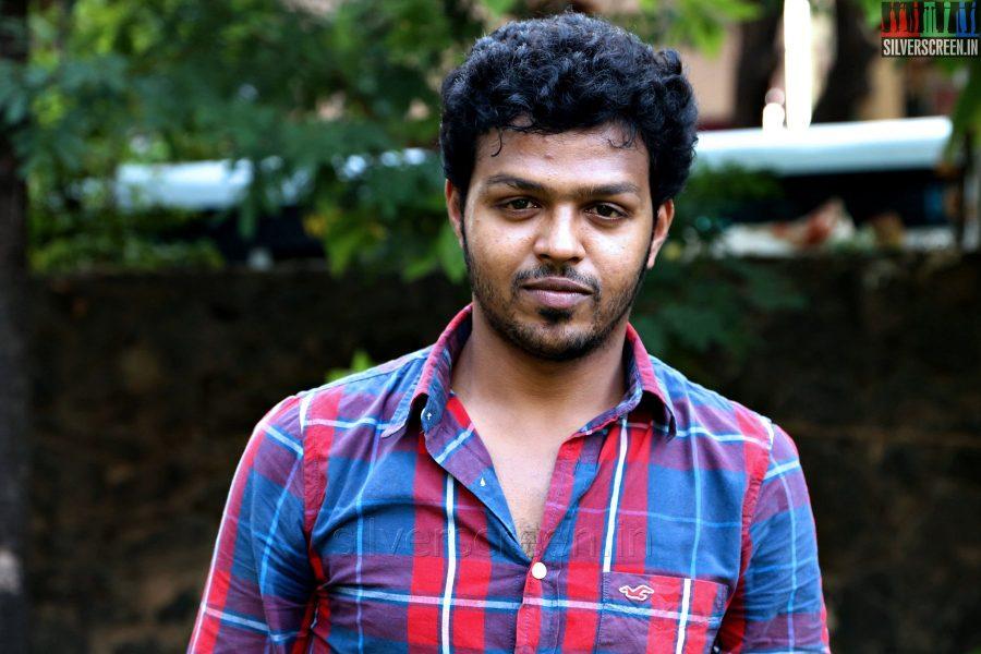 Actor Laguparan at the Manam Mayanguthey Press Meet