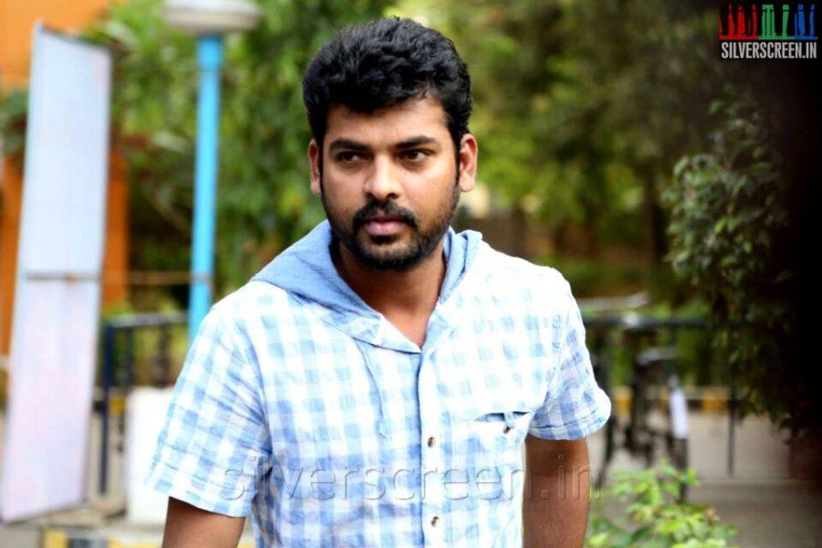 Actor Vimal at the Manjapai Press Meet