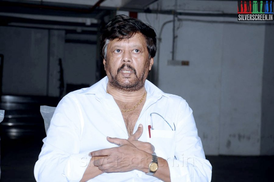 Actor Thiagarajan (or Thyagarajan) at his Press Meet