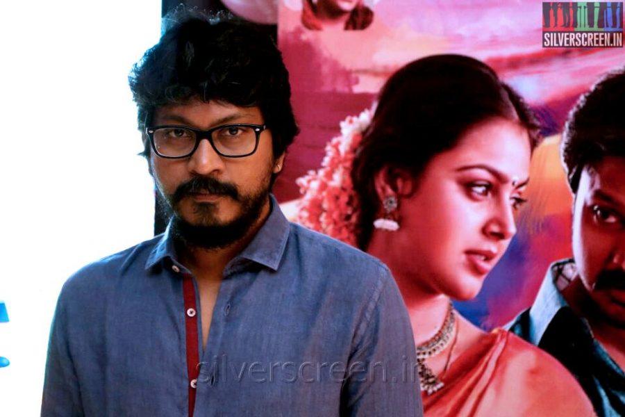 Director Vishnuvardhan at the Vaanavarayan Vallavarayan Audio Launch