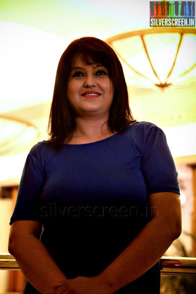 Actress Sona Heiden at the Yaamirukka Bayamey Success Meet