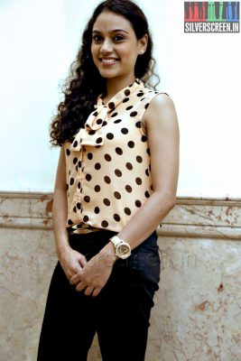 Actress Rupa Manjari at the Yaamirukka Bayamey Success Meet