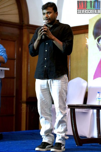 Director Deekay at the Yaamirukka Bayamey Success Meet