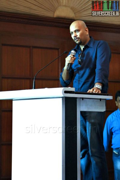 Lyricist Srikanth Varadan at the Yaamirukka Bayamey Success Meet