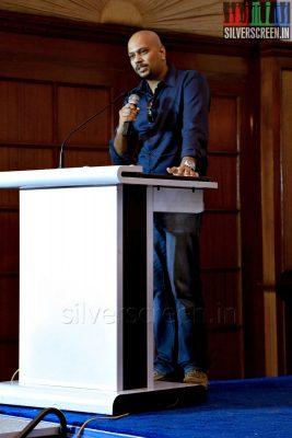 Lyricist Srikanth Varadan at the Yaamirukka Bayamey Success Meet