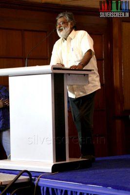 Actor Nalinikanth at the Yaamirukka Bayamey Success Meet
