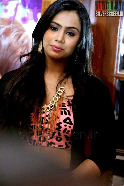 Actress Thulasi Nair at the Yaan Press Meet