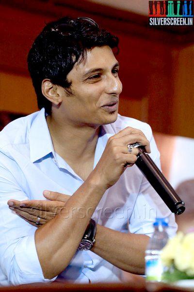 Actor Jiiva at the Yaan Press Meet