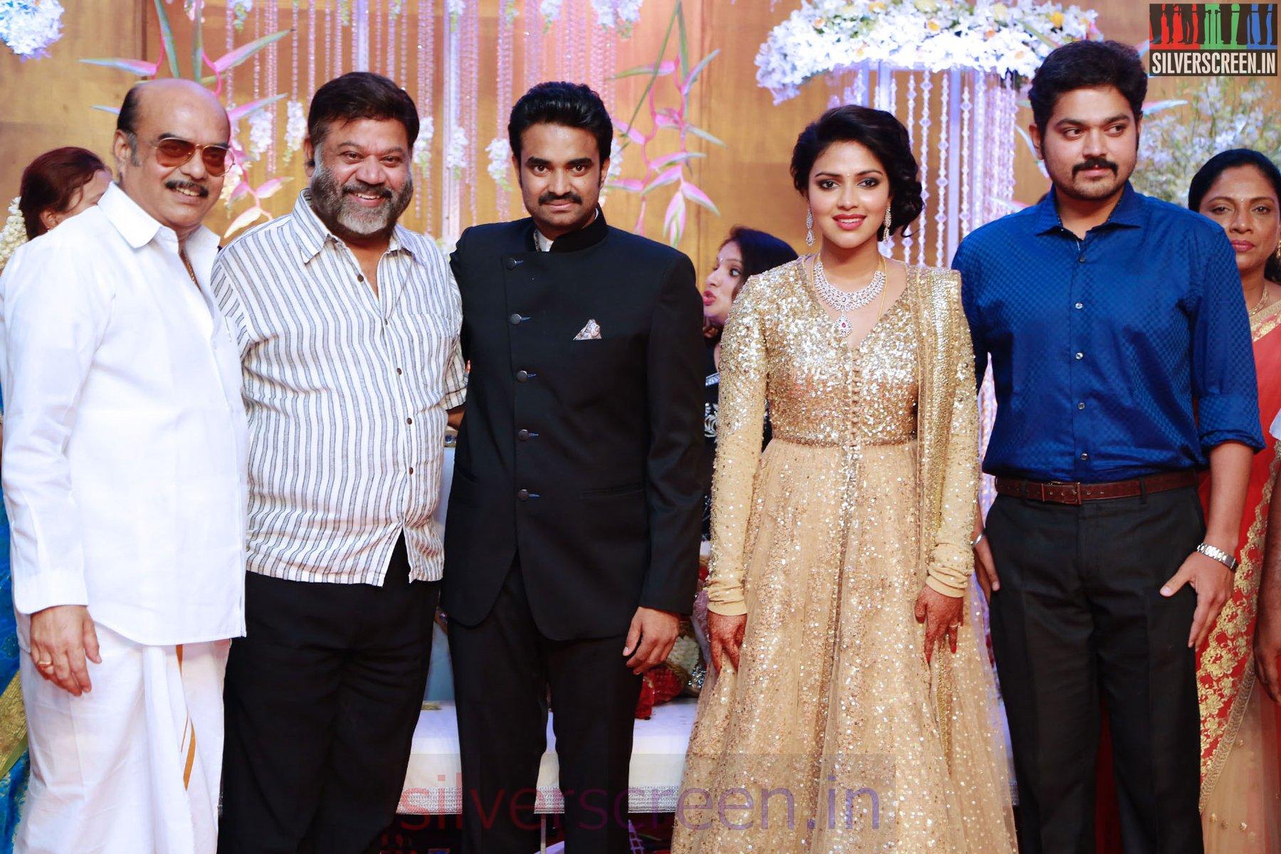 Amala Paul – Director Vijay Wedding Reception Photos – Silverscreen in