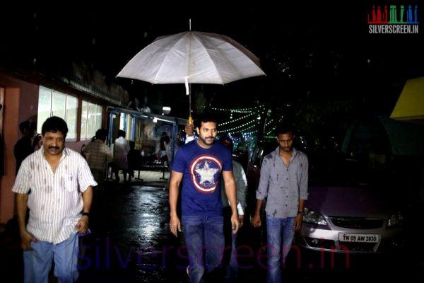 Actor Jayam Ravi at Bhooloham Movie (Or Boologam) Press Meet