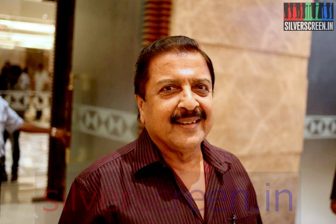 Actor Sivakumar at the Madras Movie Audio Launch