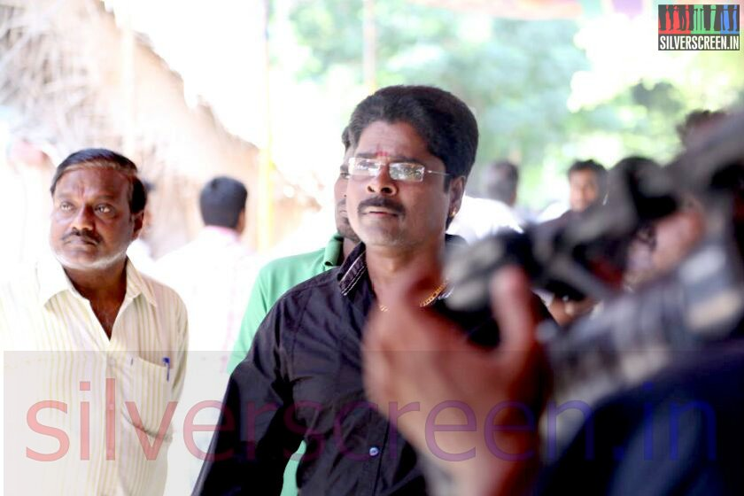 Director Ramanarayanan's Funeral;